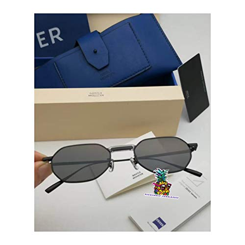day spring online shop Retro Metal Frame GM Voyager M Metal Oval Sunglasses with Origianl Package Sets-Black Black