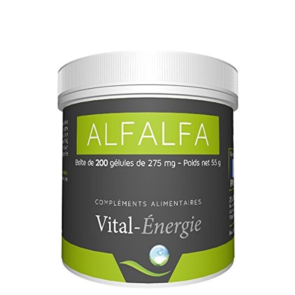 Купить альфа альфа люцерна Vital-Energie ✓ vital-energie Alfalfa 200Kapseln ✓ amaazoon.ru