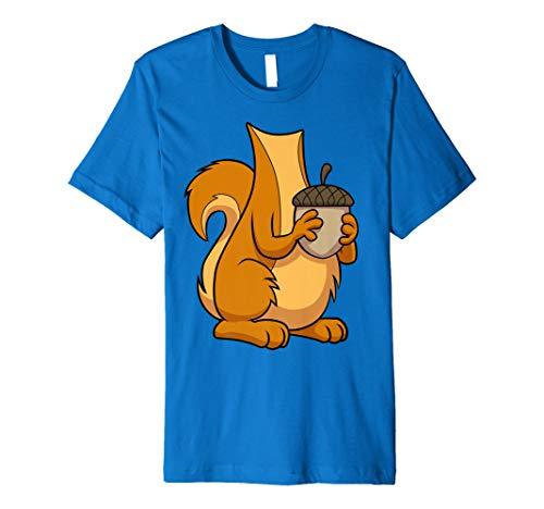 Eichhörnchen Kostüm T-Shirt für Halloween Eichhörnchen Tier -