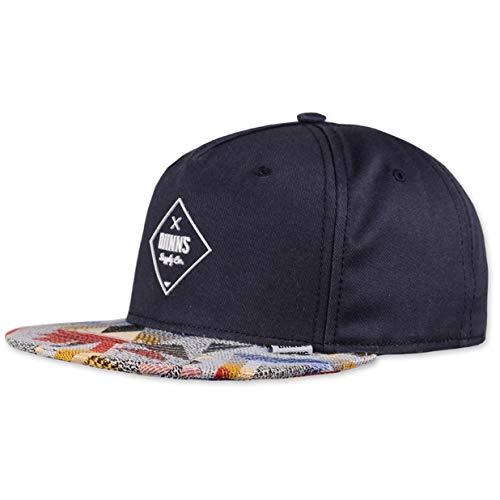 Djinns Herren Caps/Snapback Cap Rubber Aztek Blau Verstellbar