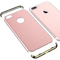 VemMore iPhone 7 Plus Hülle Hard Case Handyhülle Ultra Slim Dünn 360 Hardcase Full Body Protection [3 in 1] Bumper... preisvergleich bei billige-tabletten.eu
