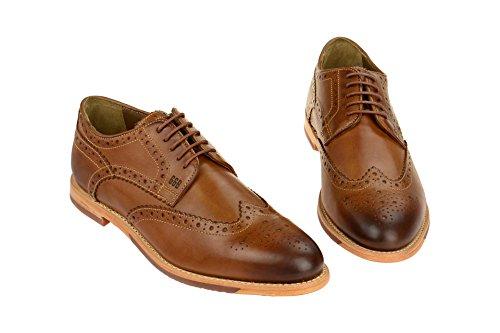Gordon & Bros  S160479 Brown-cognac, Chaussures à lacets et coupe classique homme Marron Clair