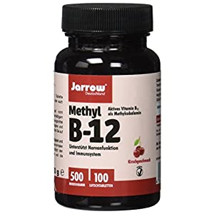 Methyl B12, aktives Vitamin B12 als Methylcobalamin Lutschtabletten