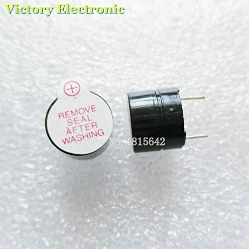 Neue Schwarze Ringer (10PCS/Lot 3V Mini Magnetic Active Buzzer Alarm Ringer schwarz INGT 9.6 mm neue GroßHandels Elektronik)