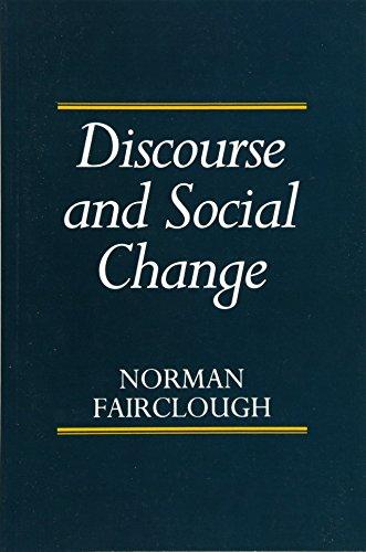 Discourse and Social Change por Norman Fairclough
