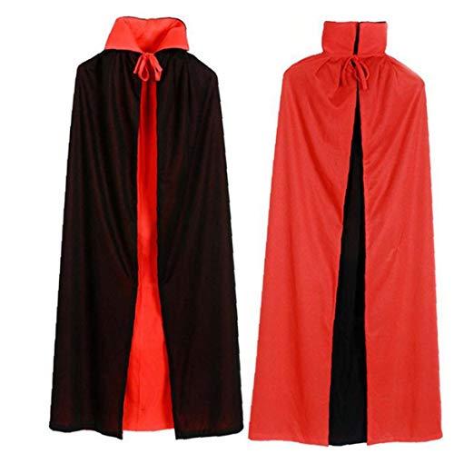 Jafar Magier Kostüm - Bontand Unisex Vampir Umhang Vampir Cape