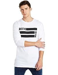 Symbol Men's Printed Longline T-Shirt