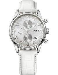 Hugo Boss 1502225 - Reloj analógico de cuarzo para mujer con correa de piel, color