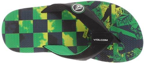 Volcom Vocation Creedlers, Tongs Mixte Adulte Vert - verde (Grün (GREEN GRN))