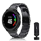 Fintie Bracelet pour Garmin Forerunner 235/220 / 230/620 / 630 / 735XT Smart Watch -...