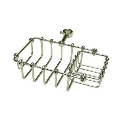 Elements of Design Vintage 17.8cm Riser Mount Soap Basket Finish: Polished Chrome