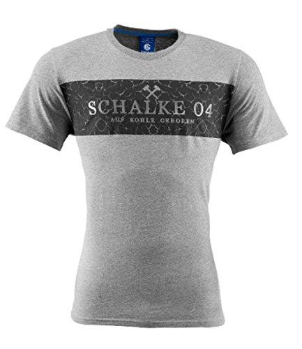 FC Schalke 04 Herren Pullover anthrazit grau