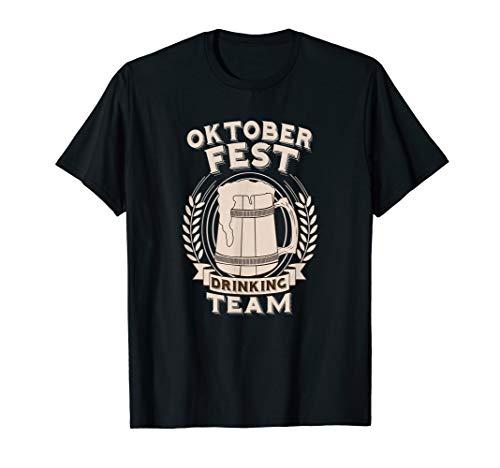 Oktoberfest Offizielles Trinkteam Produkt T-Shirt