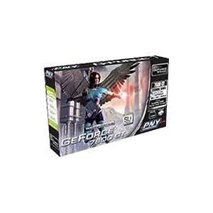 PNY Verto GeForce 7 7600 GT Carte graphique GF 7600 GT PCI Express x16 256 Mo GDDR3 Digital Visual Interface sortie TVHD