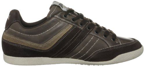 Lonsdale Sivko, Baskets mode homme Marron - Brown/Taupe