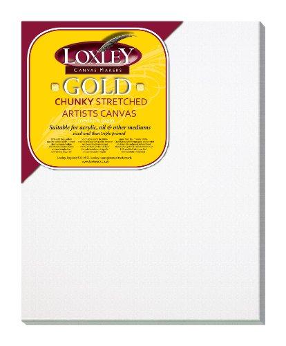 Loxley Gold LCC-2016 - Lienzo preestirado, Color Blanco