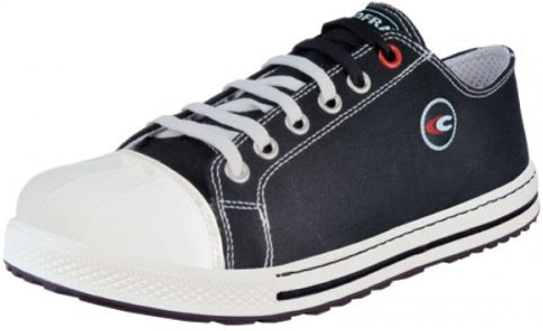 Cofra zapatos de seguridad free S1 P Old Glories 35021-002, de zapatillas-aspecto, colour negro