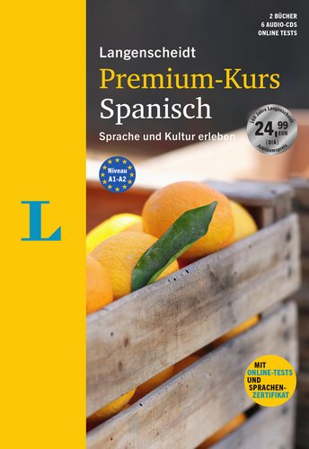 Langenscheidt Premium-Kurs Spanisch - Sprachkurs mit 2 Büchern, 6 Audio-CDs, MP3-Download,...
