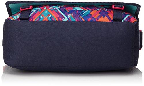 Chiemsee Borsa a tracolla unisex borsa da Shoulderbag, Messenger Bag, Borsa Plaid Blazing, Unisex, Umhängetasche Shoulderbag, Great Checker, 39 x 13 x 28 cm, 15 Liter Ethno Splash