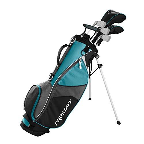 Wilson Unisex Jugend PRO Staff JGI LG JR Girl Set Golfschläger, Mehrfarben, LRH -