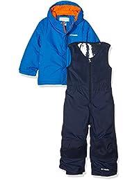 Columbia Buga Set - Conjunto chaqueta y pantalón para niño, color azul, talla 3