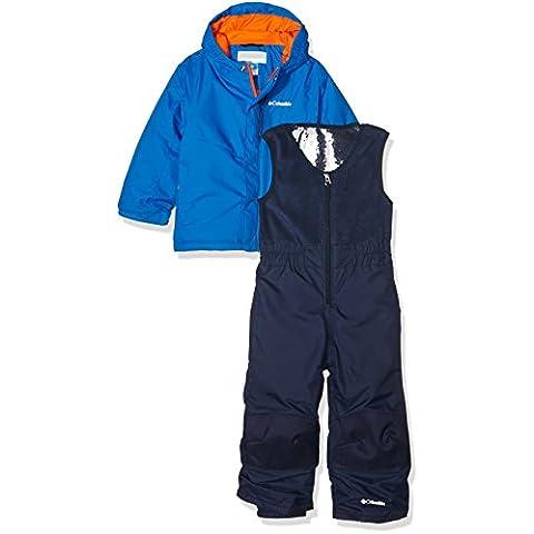 Columbia Buga Set - Conjunto chaqueta y pantalón para niño, color azul, talla 4