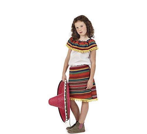Imagen de disfraz de mejicana adriana para niña