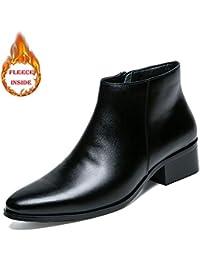 ad9ba3440a95c Bottes pour Hommes, Style décontracté et à Bout Pointu de Style Pur (Style  conventionnel),2018 Chaussures Homme Bottes…