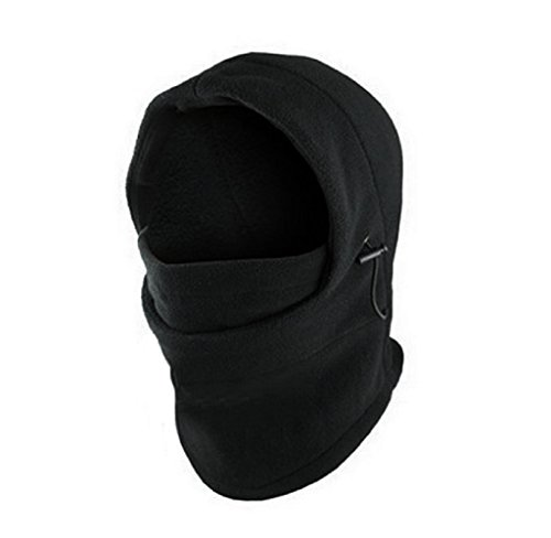 Hut Schwarz,Dragon868 Draussen Neck Balaclava Winter Gesicht Hut Fleece Hood Ski Maske Warm Helm (Schwarz) (Chicago Bulls Cowboy-hut)