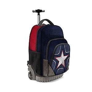 410T64m2p L. SS300  - Karactermania Captain America Suit-zaino Trolley Travel GTS Mochila Tipo Casual 47 Centimeters 39.5 Multicolor (Multicolour)