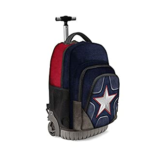410T64m2p L. SS324  - Karactermania Captain America Suit-zaino Trolley Travel GTS Mochila Tipo Casual 47 Centimeters 39.5 (Multicolour)