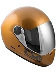 TSG Helmet casco integral for longboard and downhill. GOLD -XL-