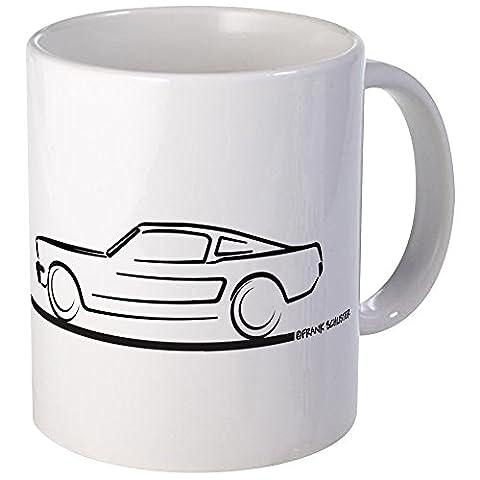 CafePress - 1964 65 66 Mustang Fastback Mug - Unique Coffee Mug, 11oz Coffee Cup, Tea Cup by CafePress