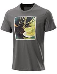 Converse T-Shirt Men - AMT PHOTO 05877C - Charcoal Gray
