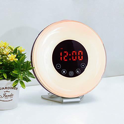 PLMO LED Colores Despertador Despertar Reloj Digital
