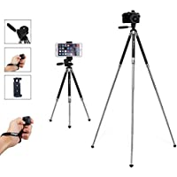 Fotopro Phone Tripod, Lightweight Tripod with Bluetooth for Phone, Samsung and GoPro (39.5 Inch)