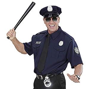 WIDMANN wdm1575p?Disfraz para Adultos Policía NYPD, Azul, M
