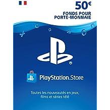 Carte PSN 50 EUR | Compte français | Code PSN à télécharger
