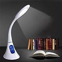 Xh&Yh Interruptor con./desc. Ajustable de la lámpara de escritorio de la luz ambiente simple puede exhibir el calendario de tiempo , White