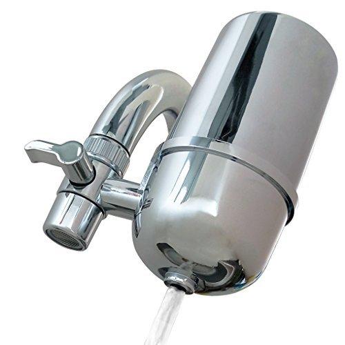 Kabter Wasserfiltersystem für Wasserhahn, Chrom - Zyste Entfernen