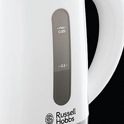Russell-Hobbs-23840-70-Travel-Wasserkocher-Reisewasserkocher-mit-weltweiter-Spannungsanpassung-inkl-2-Tassen-2-Teelffel-085l-1000-Watt-wei