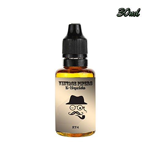 Eliquid Vape Juice 30ml - RY4 Tobacco E-Juice from Vintage Pipers (0mg)