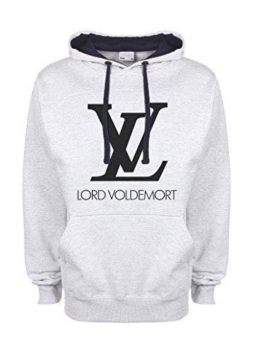 Harry Potter LV Lord Voldemort gris / azul muy oscuro Qualità Superiore...