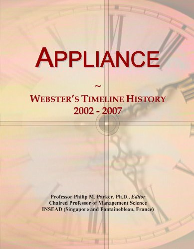 appliance-websters-timeline-history-2002-2007