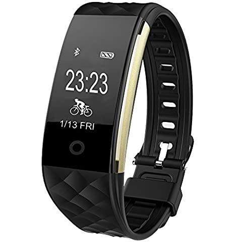 Tracker d'Activité, GanRiver® Fitness Tracker Cardio Etanche IP67 Montre Podometre
