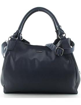Prato Damenbeutel Frauentasche Henkeltasche S720 Blau