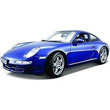 Maisto 531692 - Reproducción en miniatura de Porsche 911 Carrera S (escala 01:18