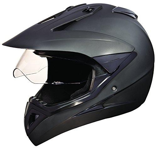 84427dc1 Buy Studds Motocross Plain SUS_MVPFFH_MBLKXL Full Face ...