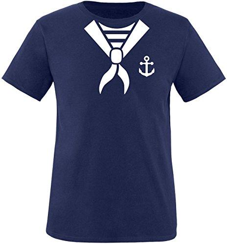 EZYshirt® Matrosen Kostüm Herren Rundhals T-Shirt
