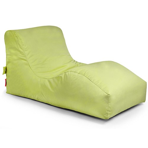 Outbag 01WAVPLU-lim Wave Gartenliege Outdoor Lounge - Lime
